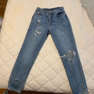 Forever 21 Ripped Mom Jeans! ☆